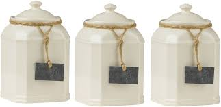 prime furnishing storage jars with slate tag cream pf0722583