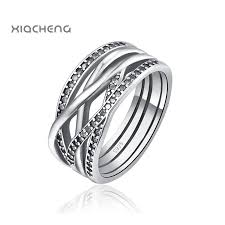 crystal silver rings images 925 sterling silver women wedding rings with full crystal fit with jpg
