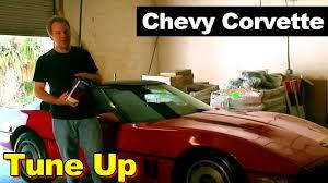 1986 Corvette Interior Parts 1987 Chevrolet Corvette Tune Up Youtube