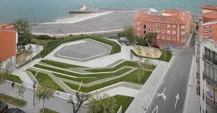 stormwater management inhabitat green design innovation stormwater savvy urban park turns permeable paving into a beautiful design asset