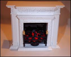 battery operated fireplace insert for dollhouses battery operated