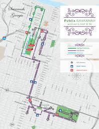 Route 80 Map by Fees U0026 Schedule Publix Savannah Women U0027s Half U0026 5k