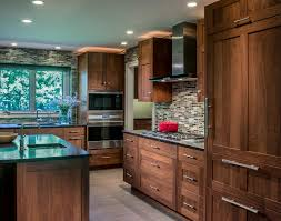 handsome walnut wheaton illinois pb kitchen design