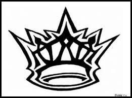 graffiti crown designs