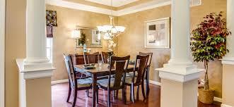 columbia floor plan trinity homes columbus ohio dining room