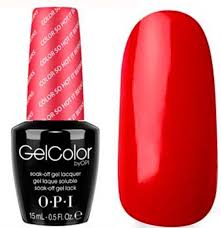 opi gelcolor color so it berns uv led polish free