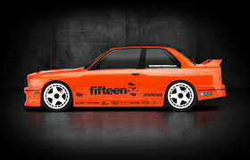 Bmw M3 E30 - side view of the new hpi racing x fifteen52 bmw m3 e30 rs4 sport 3