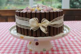 chocolate easter cake idea