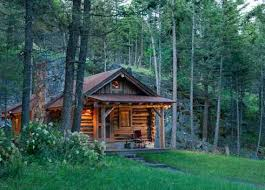 Small Cabins The Small Log Cabin Simply Serene