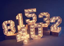marquee numbers with lights silver marquee numbers available for hire from www eventhaus com