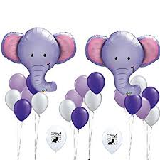 purple elephant baby shower decorations elephant balloons baby shower decorations elephant