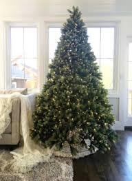 9 ft tree with led lights pre lit led california