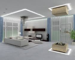Bright Interior Nuance Living Room Bright White Minimalist Sectional Sofa In Modern
