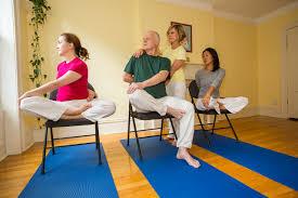 Armchair Yoga For Seniors How To Teach Yoga For Seniors Sivananda Yoga Vedanta Center Nyc