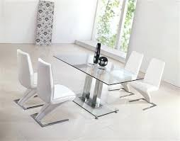 glass and chrome dining table glass table with chairs hangrofficial com