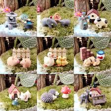3pcs miniature dollhouse bonsai craft micro landscape diy flower