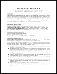 Curriculum Vitae Medical Doctor Template Registrar Resume Resume Cv Cover Letter