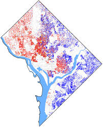 Columbia Zip Code Map by Demographics Of Washington D C Wikipedia
