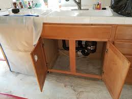 kitchen cabinets in a box water damage to kitchen cabinets insurance solution was to