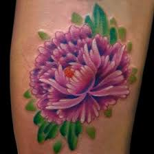 45 beautiful dahlia tattoos