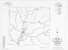 Pennsylvania Highway Map by Home Pine Grove Township