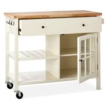 threshold kitchen island windham wood top kitchen island white threshold target