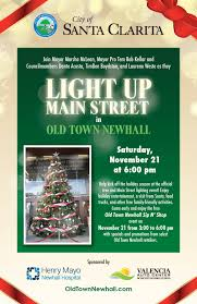 Main Street Lighting Light Up Main Street In Old Town Newhall U2014 Hometown Station Khts