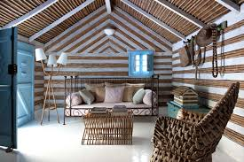 Paradise Summer Cottage Decorated With Natural Materials Decoholic - Summer home furniture