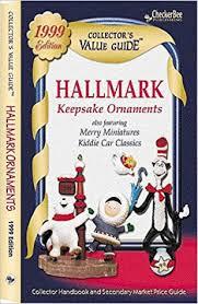 hallmark keepsake ornaments secondary market price guide