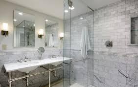 rectangle shape black wooden vanity bathroom remodel tile round
