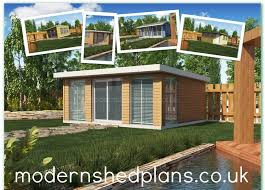 Modern Shed Plans Build Your Own Modern Shed From Our Shed Building Plans Uk