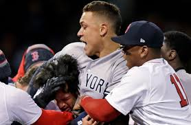 Aaron Judge Joins An Exclusive Club Of Yankees All Stars Pinstripe - why yankees aaron judge put red sox s joe kelly in a headlock nj com