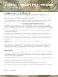 download data center disaster recovery plan template from search