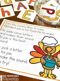 the printable princess kindergarten thanksgiving activities