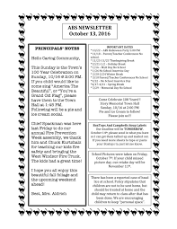upcoming thanksgiving dates abs newsletter 10 13 16 u2014 windsor southeast supervisory union