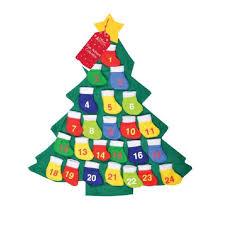 tree advent calendar fillers santa countdown ebay