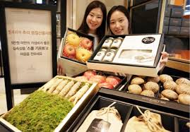 retailers promote korean thanksgiving gifts amid anti graft