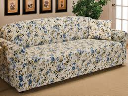 Sofas Slipcovers by Sofa 25 Simple Sofas With Blue Green Floral Slipcovers