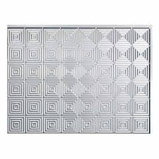 Fasade BacksplashMiniquattro In Brushed Aluminum - Aluminum backsplash