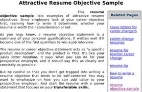 Sample Job Objective For Resume by 28 Career Change Resume Objective Examples Resume Objective