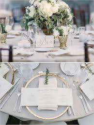 table mariage décoration de table de mariage chic les décorations de tables de