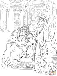 samson coloring pages free coloring pages
