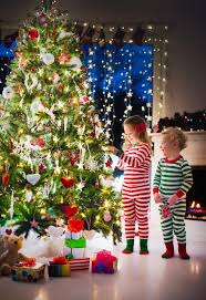 decorating tree stock image image of december