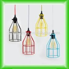 industrial cage light bulb cover cage pendant light hanging edison bare bulb pendant l industrial
