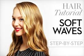 how to make soft hair soft curls 4 steps to wavy hair fashion magazine