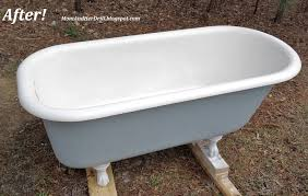 Bathtub Paint Repair Refinishing The Porcelain Tub U0026 Sinks The Bottle That Fixed