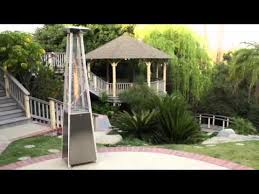 Zeus Patio Heater by Stainless Steel Pyramid Flame 40 000 Btu Patio Heater Best Seller
