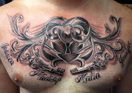 26 romantic heart locket tattoo designs creativefan