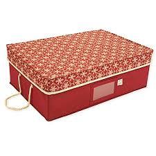 treekeeper santa s bags snowflake ornament storage box bed bath