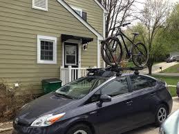 toyota prius bike rack prius v bike rack priuschat